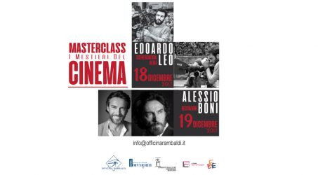 Masterclass in Sceneggiatura, Regia e Recitazione