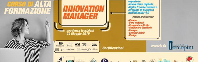 """Corso Alta Formazione """"INNOVATION MANAGER"""""""